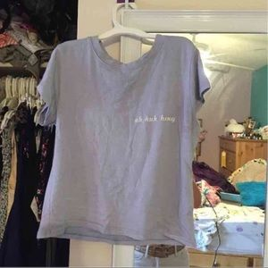 Brandy Melville uh huh honey tee